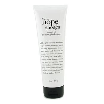 Увлажняющий скраб When Hope is Not Enough Omega 3.6.9 Hydrating Body Scrub 227г./8oz