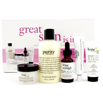 Great Skin Is In - для нормальной и комбинированной кожи ( набор Делюкс ) 5шт.