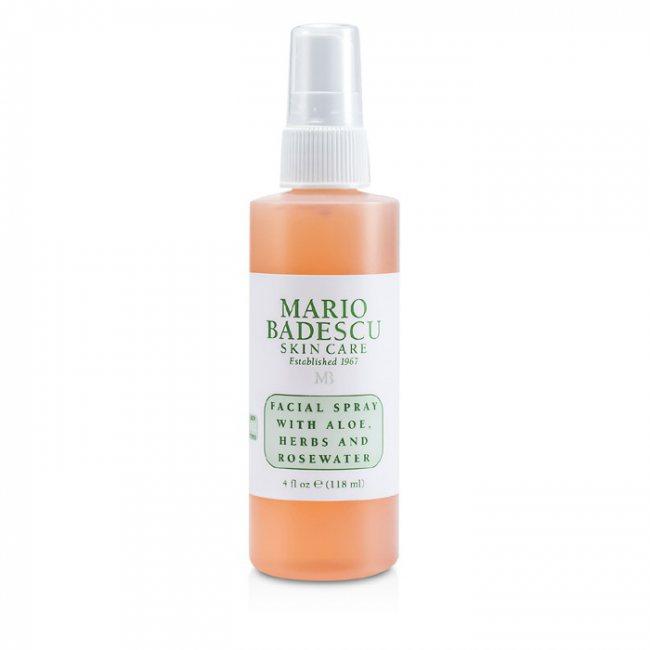 Mario Badescu Facial Spray With Aloe Herbs Rosewater For All Skin Types