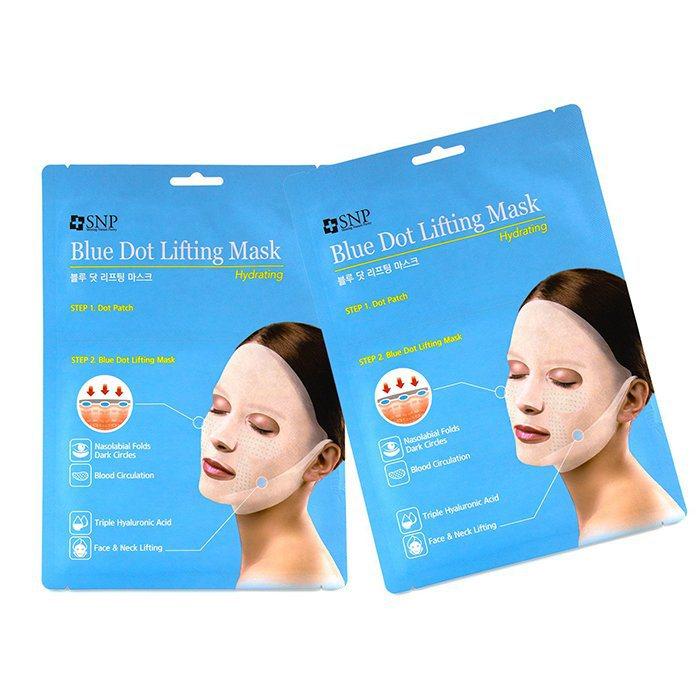 Hydrating Blue Dot Lifting Sheet Mask by snp #16