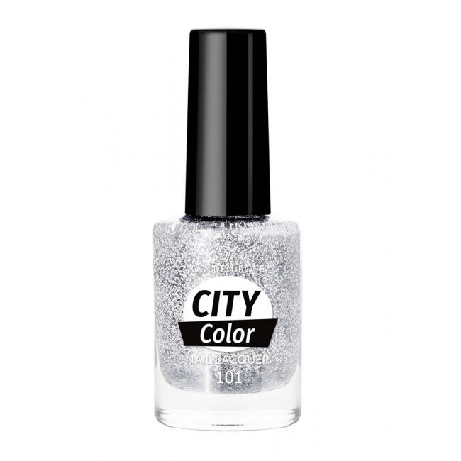 Лак для ногтей City color с глитером # голубой # голубой from Golden Rose.. to Uzbekistan. CosmoStore Uzbekistan