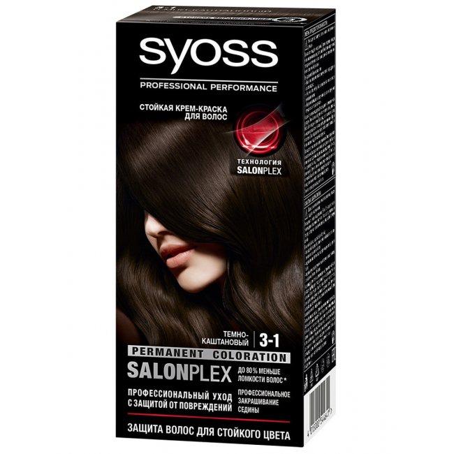 SYOSS Краска для волос 3-1 # темно-каштановый buy to Haiti. CosmoStore Haiti