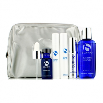 Anti-Aging Travel Kit: Cleansing Complex + Youth Complex + Active Serum + Eclipse SPF 50+ + Bag (Exp. Date 09/2015)