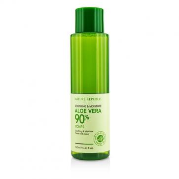 Soothing & Moisture Aloe Vera 90% Toner