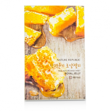 Real Nature Mask Sheet - Royal Jelly