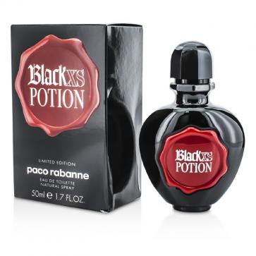 Black Xs Potion Eau De Toilette Spray (Limited Edition/ Box Slightly Damaged)
