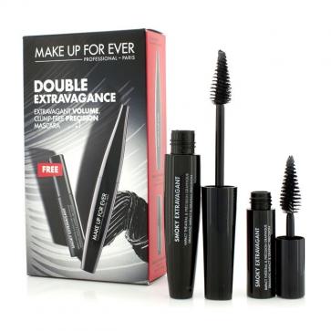 Double Smokey Extravagance Mascara Set (1x Mascara 7ml, 1x Mini Mascara 4ml)