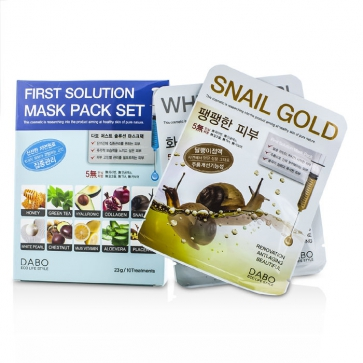 First Solution Mask Pack Collection (10 Types)