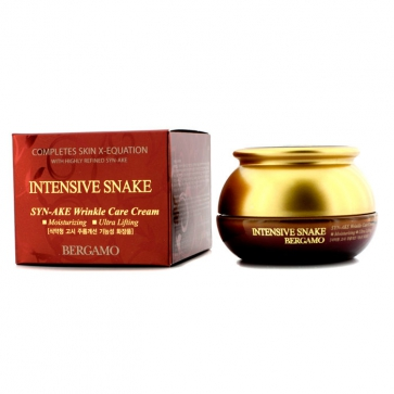 Wrinkle Care Cream - Intensive Snake (Moisturizing / Ultra Lifting)