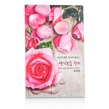 Real Nature Mask Sheet - Rose