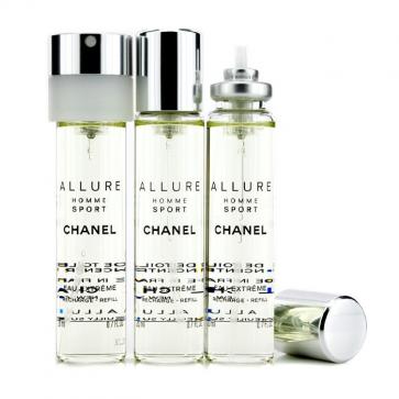 b5e47fbbe86 Chanel Allure Homme Sport Eau Extreme Travel Spray Refills (3 ...