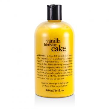 Vanilla Birthday Cake - Award Winning Ultra Rich Shampoo, S/G & Bubble Bath