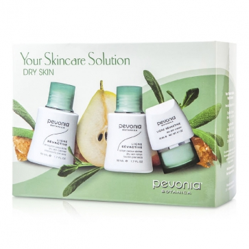 Your Skincare Solution Dry Skin Holiday Set: Cleanser 50ml + Lotion 50ml + Cream 20ml + Bag