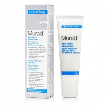 Anti Aging Moisturizer SPF 20 PA++ (For Blemish-Prone Skin)