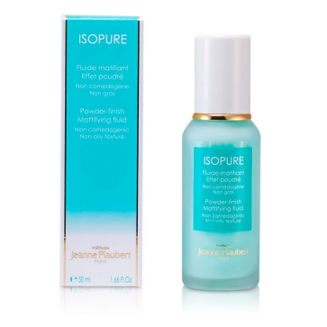 Isopure - Powder-Finish Mattifying Fluid (Non-Oily Texture)