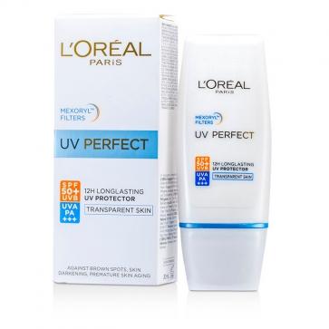 Dermo-Expertise UV Perfect Стойкое Солнцезащитное Средство UVA/UVB SPF50 РА+++ - # Прозрачная Кожа
