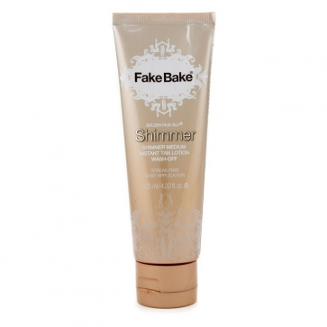 Golden Faux Glo Shimmer Medium Instant Tan Lotion