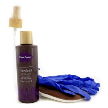 Flawless Self-Tan Liquid & Professional Mitt