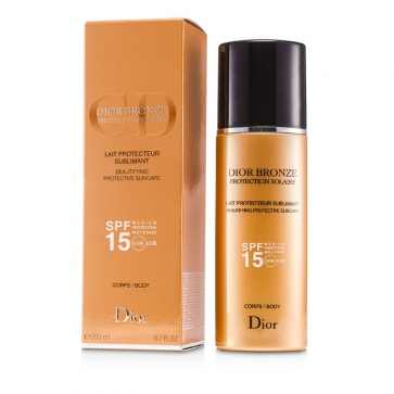 Dior Bronze Lait Sublimant Beautifying Protective Suncare SPF15
