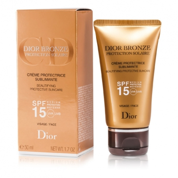 Dior Bronze Beautifying Protective Suncare SPF 15 For Face