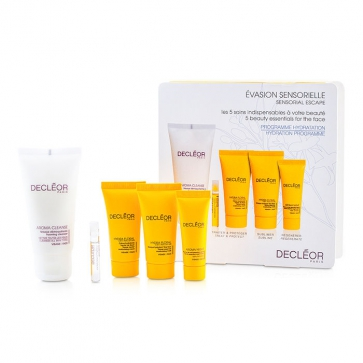 Sensorial Escape Hydration Programme: Cleanser + Cream + Moisturising Mask + Night Balm + Aromessence Neroli