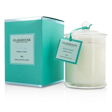 1bcead29dc Glasshouse Triple Scented Candle - Positano (Verbena Basil) buy to ...