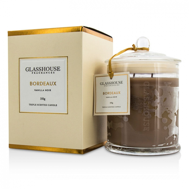 7b88207542 Glasshouse Triple Scented Candle - Bordeaux (Vanilla Noir) buy to ...