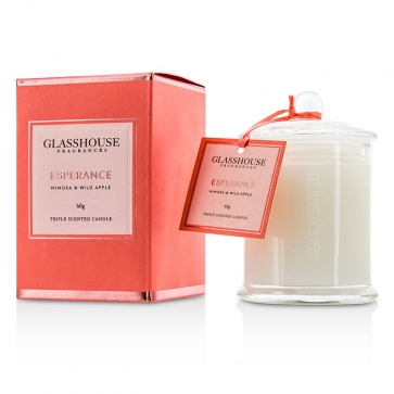 14a689644c Glasshouse Triple Scented Candle - Esperance (Mimosa   Wild Apple ...