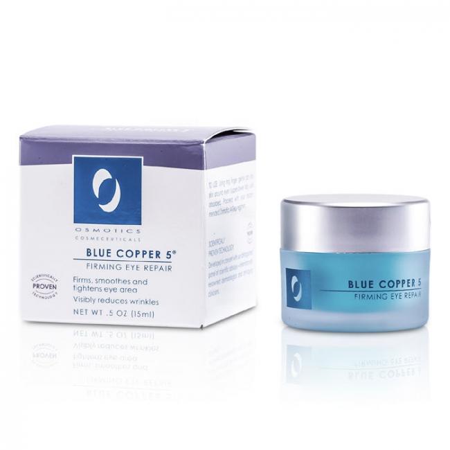 Osmotics - Blue Copper 5 Prime Eye - 15ml/0.5oz Earth Therapeutics Pre Organic Vitamin E Facial Sheet Mask, 3 Ea, 3 Pack