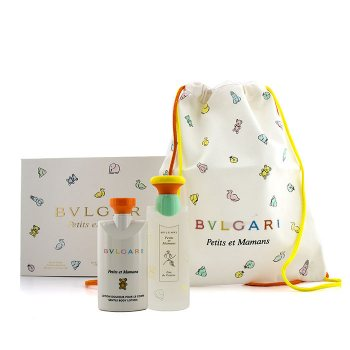 Bvlgari Petits Et Mamans Coffret Eau De Toilette Spray 100ml 3 4oz Body Lotion 75ml 2 5oz Bag Buy To Brazil Cosmostore Brazil