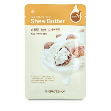 Real Nature Mask  - Shea Butter (Nutritious Firming)