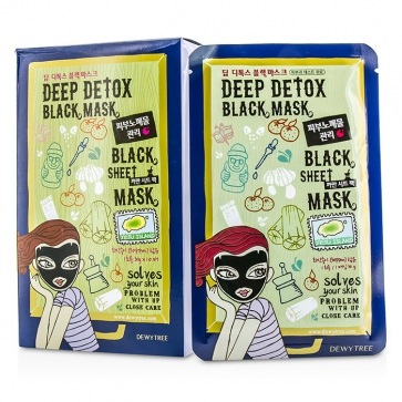 Black Sheet Mask - Deep Detox