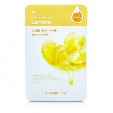 Real Nature Mask - Lemon (Brightening)
