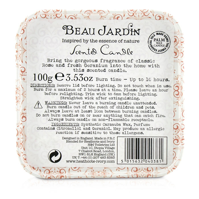 Beau Jardin Rose And Geranium - Rellik.us - rellik.us
