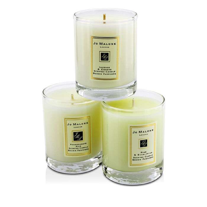 Jo Malone Scented Travel Candle Collection Pomegranate Noir Pine