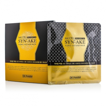McCELL Skin Science 365 SYN-AKE Hydro-Gel Gold Mask