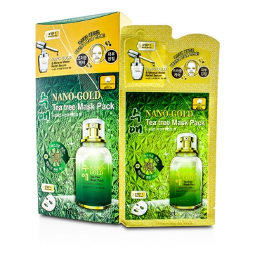 Nano-Gold 2 Step Mask Pack - Tea Tree